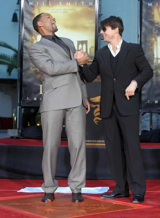 Tom Cruise is listed (or ranked) 4 on the list Famous Friends of Will Smith