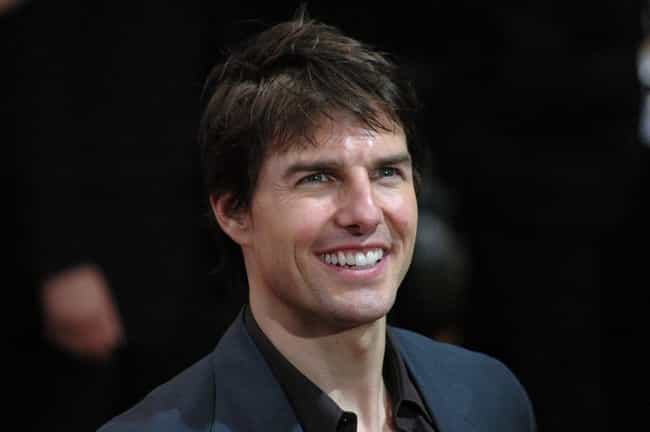 Tom Cruise is listed (or ranked) 4 on the list Actors Who Are Terrible at Doing Accents