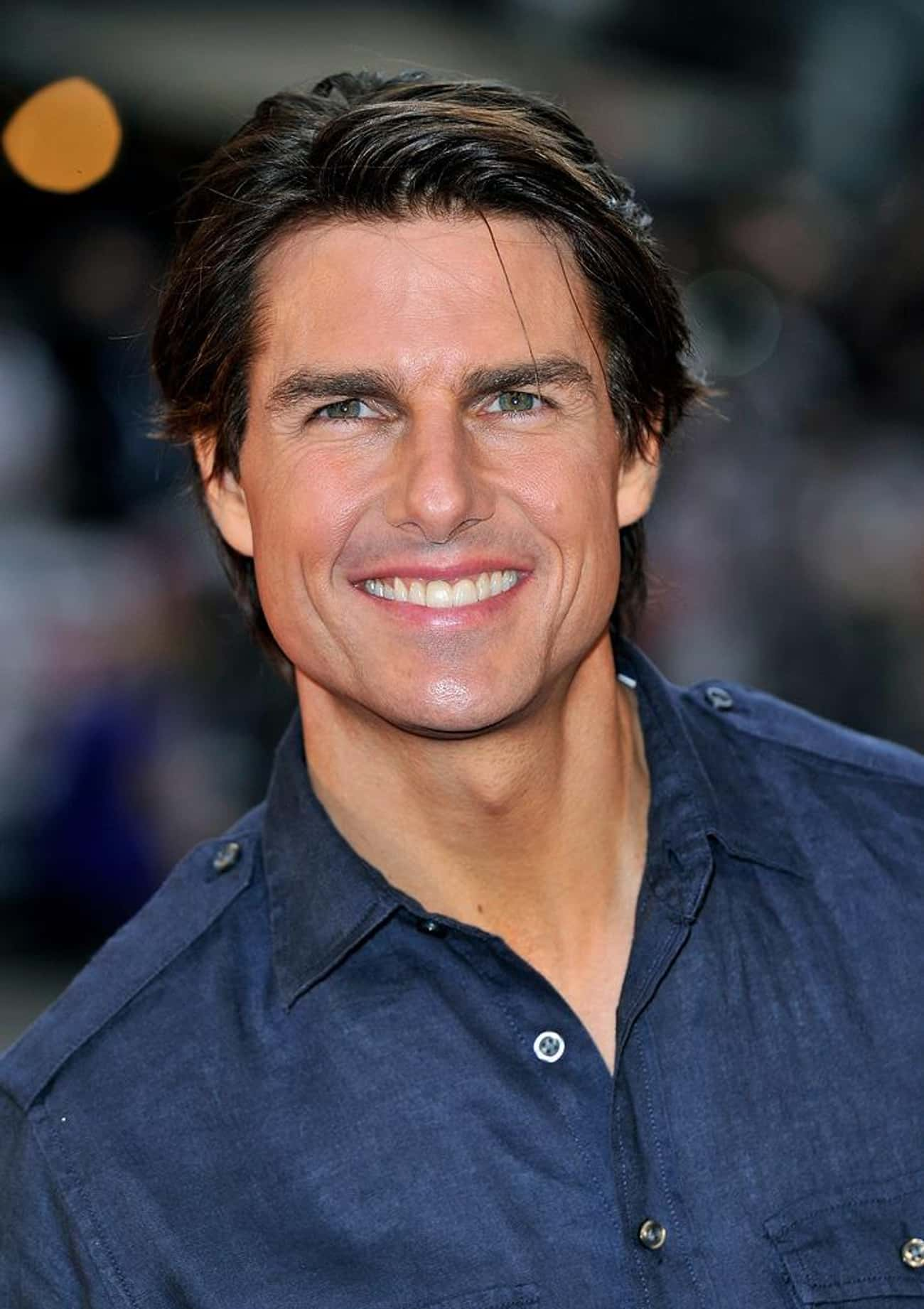 Tom Cruise is listed (or ranked) 2 on the list Hollywood's 10 Best Smiles