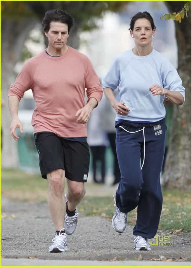 Tom Cruise is listed (or ranked) 6 on the list Celebrities Who Are Runners