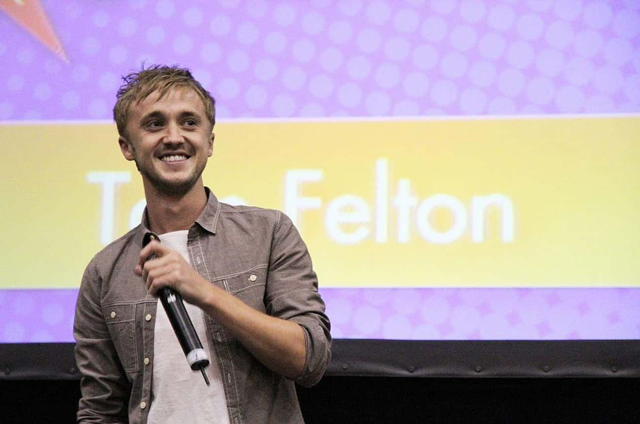 Tom Felton is listed (or ranked) 2 on the list 15 Celebrities Who Are Total Slytherins