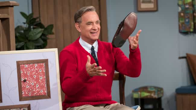 Tom Hanks is listed (or ranked) 1 on the list Actors Whose Whole Thing Is Being Your Father