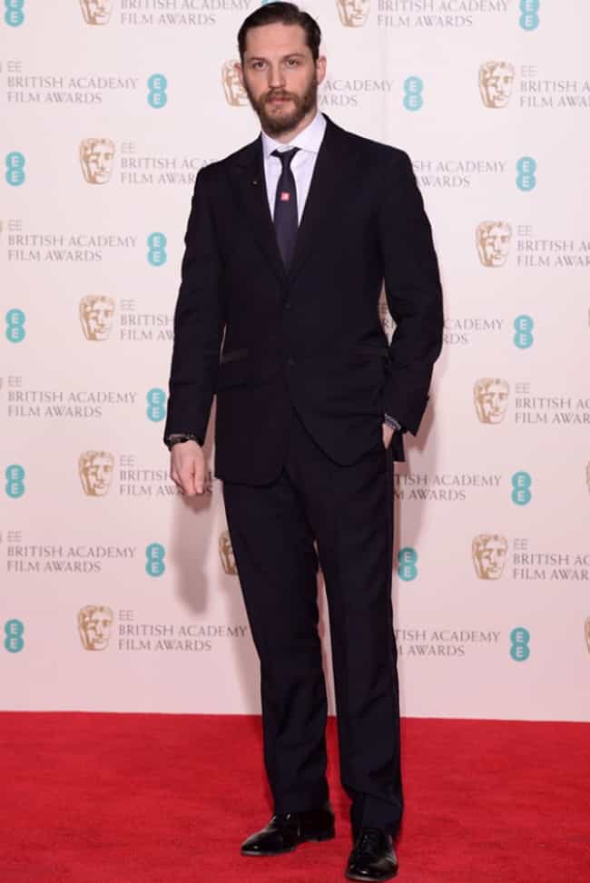 Tom Hardy is listed (or ranked) 4 on the list The Best Dressed Male Celebrities