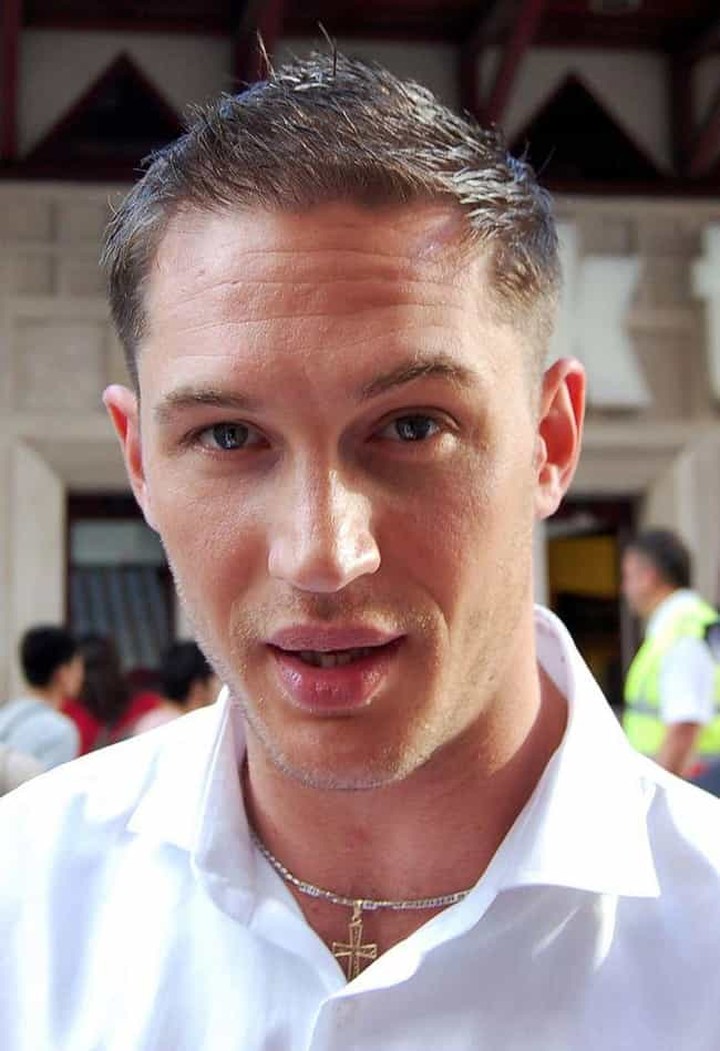 Tom Hardy is listed (or ranked) 4 on the list The Best Celebrity Lips (Men)