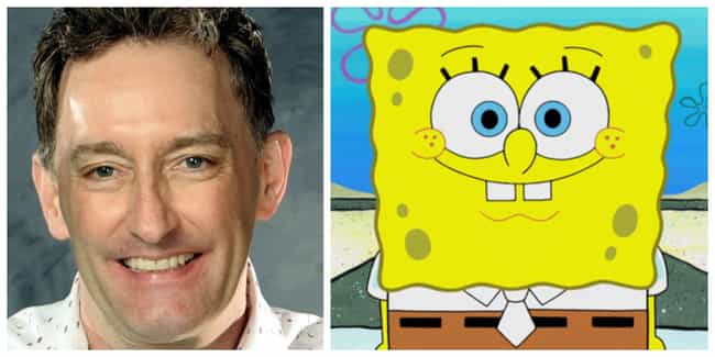 Tom Kenny is listed (or ranked) 1 on the list 'SpongeBob SquarePants' Actors Vs. The Characters They Voice