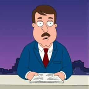 Tom Tucker is listed (or ranked) 10 on the list The Best Family Guy Characters of All Time