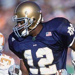 Tony Fisher is listed (or ranked) 21 on the list The Best Notre Dame Fighting Irish Running Backs of All Time