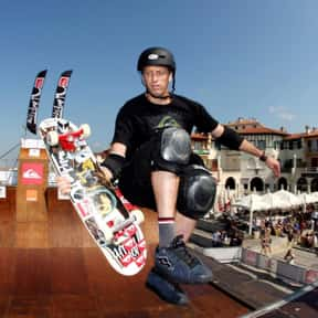 Tony Hawk is listed (or ranked) 1 on the list The Most Influential Skateboarders of All Time