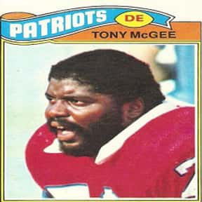 Tony McGee is listed (or ranked) 18 on the list The Best NFL Players From Michigan