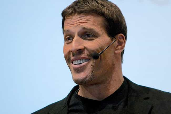 Tony Robbins is listed (or ranked) 2 on the list 20 Famous People Born on February 29