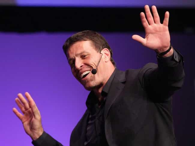 Tony Robbins is listed (or ranked) 2 on the list 20+ Famous People Born on February 29