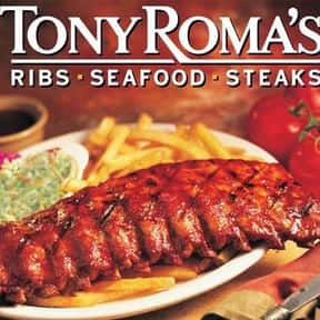 Tony Roma's is listed (or ranked) 21 on the list The Best High-End Restaurant Chains