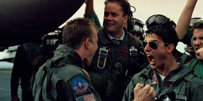Top Gun is listed (or ranked) 8 on the list Basic Bro Movies Guys Always Try To Force Their Girlfriends To Watch