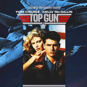 Top Gun is listed (or ranked) 25 on the list The Best Action Movies of the 1980s