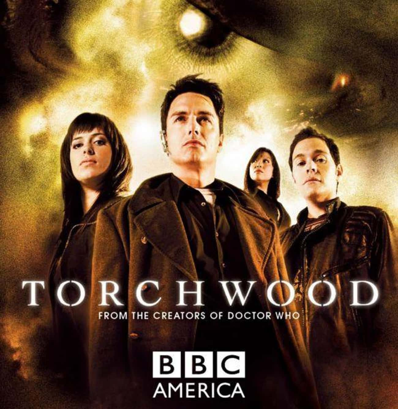Torchwood is listed (or ranked) 2 on the list Every 'Doctor Who' Show & Spinoff Across Time And Space