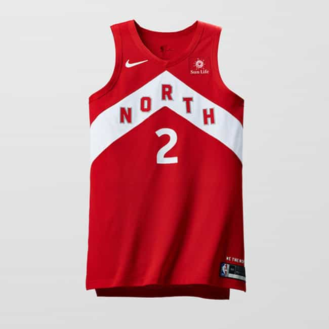 """Toronto Raptors is listed (or ranked) 3 on the list The Coolest NBA """"Earned Edition"""" Jerseys"""