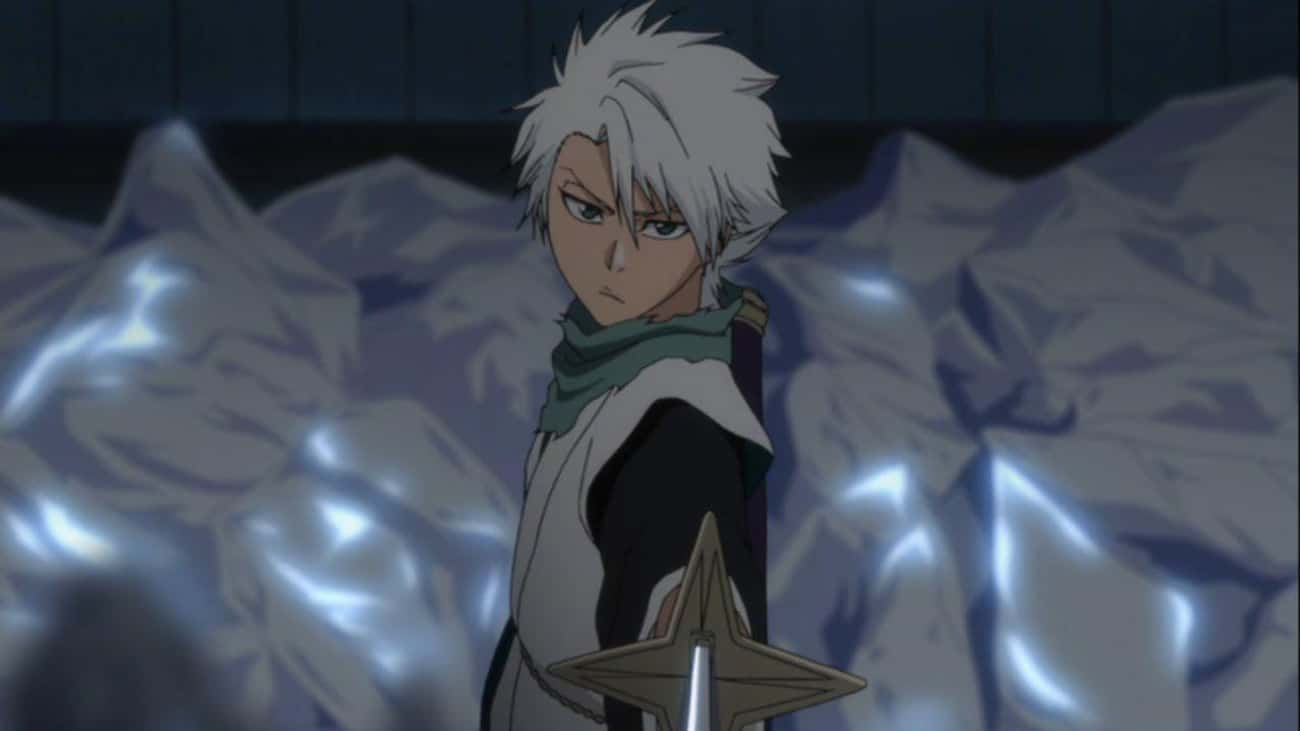 Tōshirō Hitsugaya Amps Up His  is listed (or ranked) 4 on the list 15 Times Anime Characters Came Back Stronger Than Before
