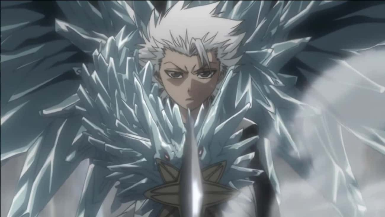 Tōshirō Hitsugaya - 'Bleach' is listed (or ranked) 1 on the list 13 Anime Characters Who Can Manipulate The Weather