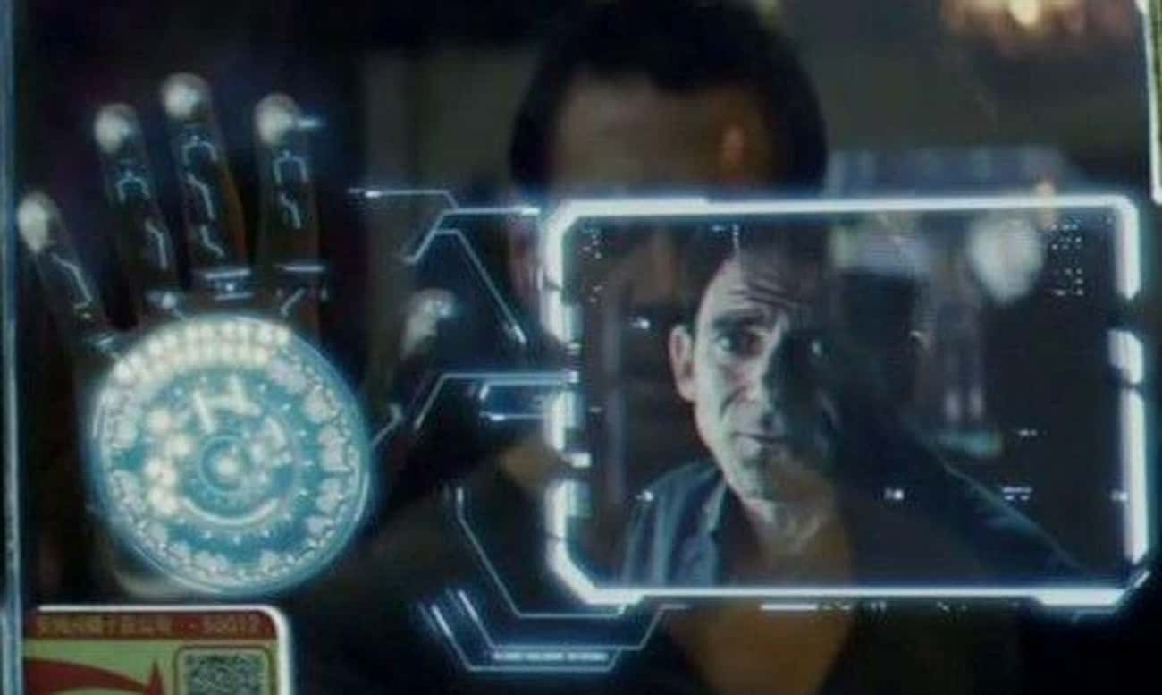 The Hand Phones From 'Total Re is listed (or ranked) 4 on the list The Dumbest Technology In Science Fiction