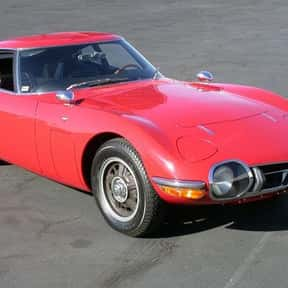 Toyota 2000GT is listed (or ranked) 1 on the list All James Bond Cars