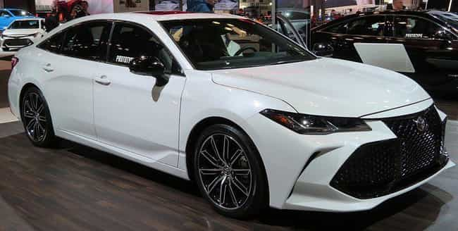 Toyota Avalon is listed (or ranked) 1 on the list The Best Cars for Senior Citizens