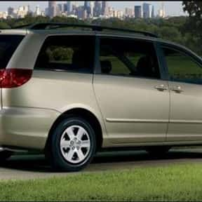 Toyota Sienna is listed (or ranked) 15 on the list The Longest Lasting Cars That Go the Distance