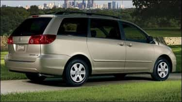 Toyota Sienna is listed (or ranked) 1 on the list Cheapest Cars to Insure