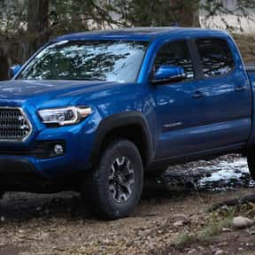 Toyota Tacoma is listed (or ranked) 5 on the list The Longest Lasting Cars That Go the Distance