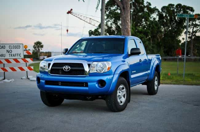 Toyota Tacoma is listed (or ranked) 2 on the list Full List of Toyota Models