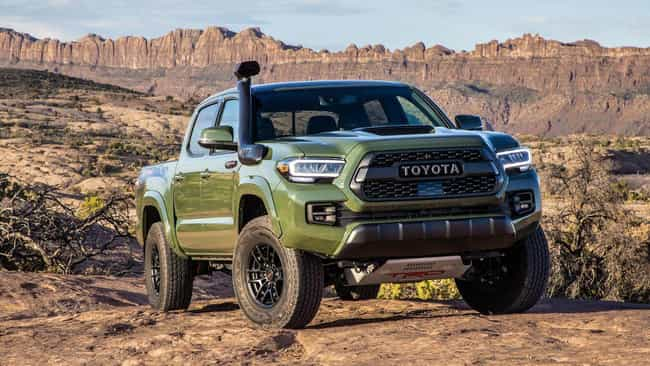 Toyota Tacoma is listed (or ranked) 2 on the list The Best 2020 Trucks On The Market