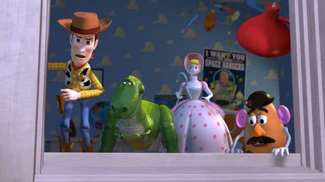Toy Story is listed (or ranked) 8 on the list Dark Deleted Scenes That Were Wisely Cut From Animated Movies