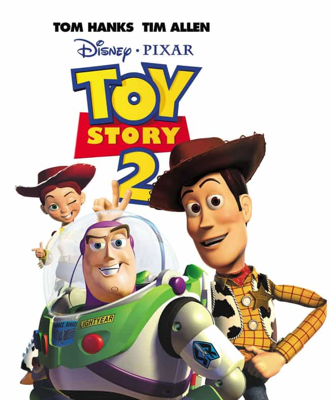 Toy Story 2 is listed (or ranked) 4 on the list All the Toy Story Movies (and Shorts), Ranked