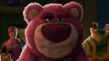 Lotso In 'Toy Story 3' is listed (or ranked) 1 on the list 20 Benevolent Characters Who Turn Out To Be The Bad Guy, Ranked By How Quickly You Saw It Coming