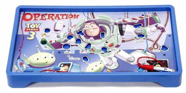 Toy Story 3 is listed (or ranked) 2 on the list The Best Editions Of The Operation Board Game