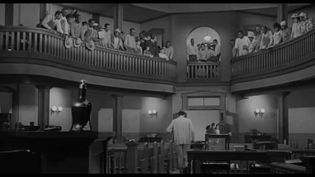 To Kill a Mockingbird is listed (or ranked) 2 on the list Actual Lawyers Explain Which Legal Movies They Like The Best