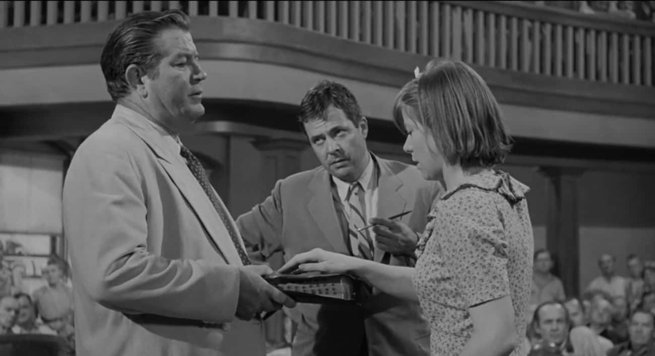 In 'To Kill a Mockingbird' A Witness's Lie Is Foreshadowed By Her Not Touching The Bible