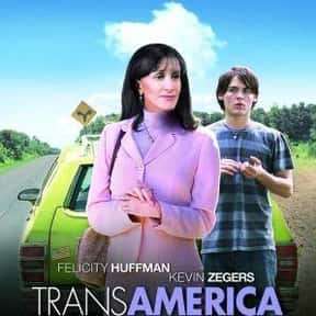 Transamerica is listed (or ranked) 21 on the list The Best Cross-Dressing Movies