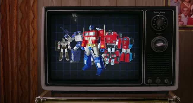 Transformers is listed (or ranked) 4 on the list The Coolest Toys From 'The Toys That Made Us'