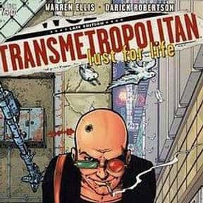 Transmetropolitan is listed (or ranked) 10 on the list The Best Vertigo Comic Book Series, Ranked