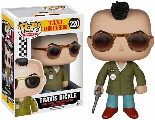 Travis Bickle is listed (or ranked) 1 on the list The Most Respectable Funkos For The Classy Film Buff