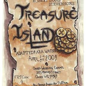 Treasure Island is listed (or ranked) 17 on the list The Best Novels Ever Written