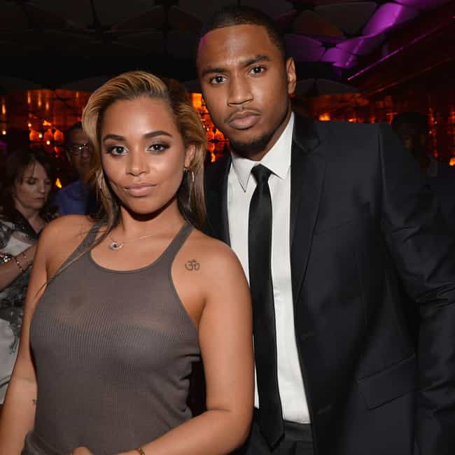 Trey Songz is listed (or ranked) 3 on the list Lauren London Loves and Hookups