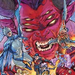 Trigon is listed (or ranked) 2 on the list The Best Villains the Teen Titans Have Ever Faced
