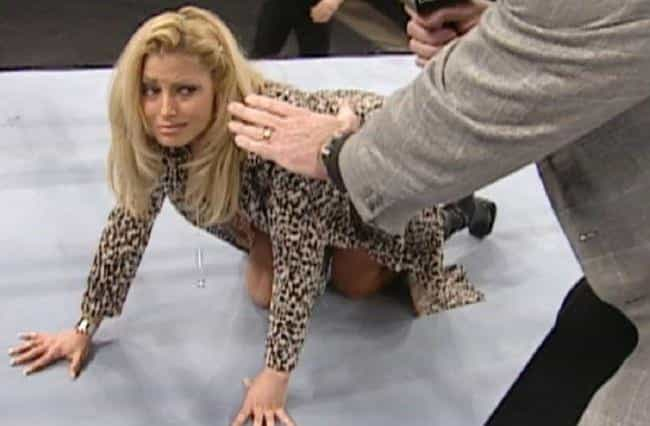 Trish Stratus is listed (or ranked) 2 on the list The Most Cringeworthy WWE Moments of All Time
