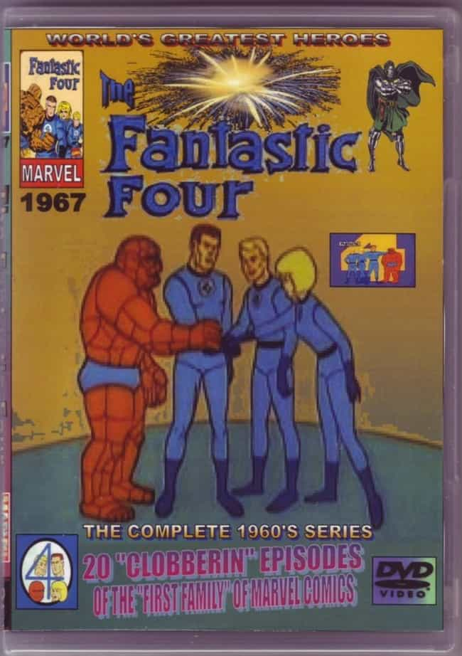 The Fantastic Four (1967) is listed (or ranked) 1 on the list TV Shows Produced By Stan Lee