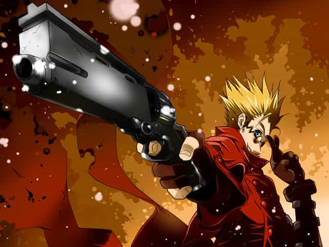 Trigun is listed (or ranked) 3 on the list The Best Steampunk Anime