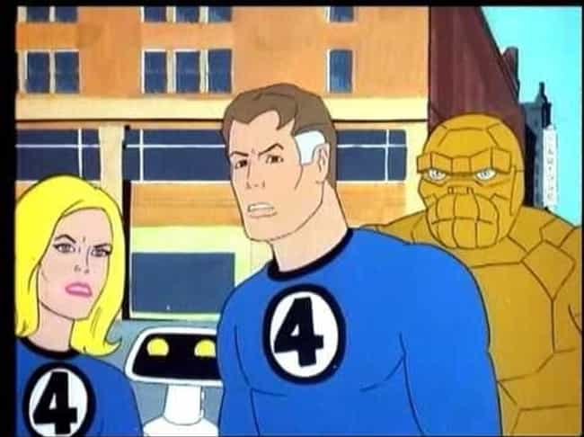 The New Fantastic Four ... is listed (or ranked) 2 on the list 13 Terrible Superhero Cartoons You Erased From Your Memory