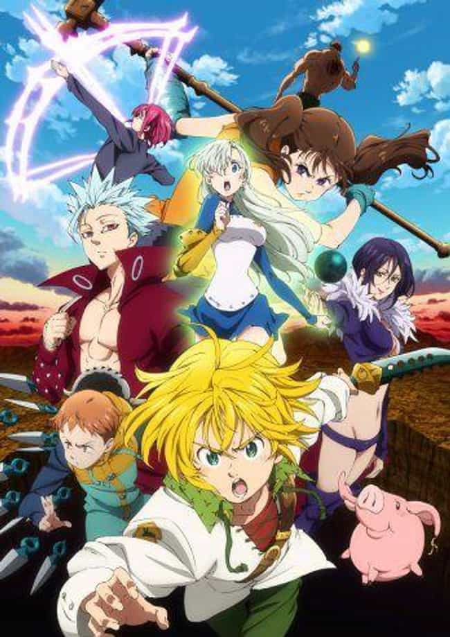 The Seven Deadly Sins is listed (or ranked) 4 on the list Netflix Shows People Are Bingeing The Fastest