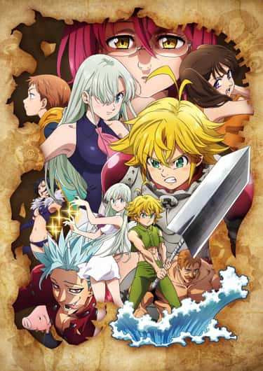 The Seven Deadly Sins: Wrath o is listed (or ranked) 2 on the list The 20 Best Fall 2019 Anime You Should be Hyped For