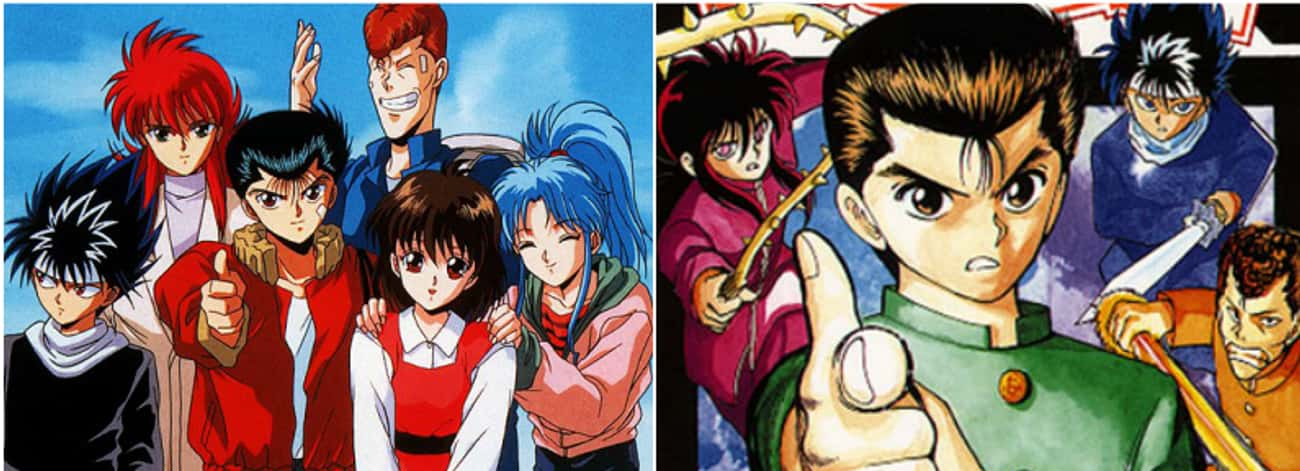 Yu Yu Hakusho is listed (or ranked) 1 on the list 13 Anime That Are Better Than the Manga